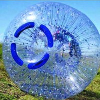 zorb ball 3 M PVC  0.8mm inflatable ball Human hamster ball outdoor toys