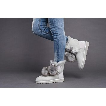 Best Deal Online UGG Limited Edition Classics SEAL Boots GITA Women Shoes 1018517