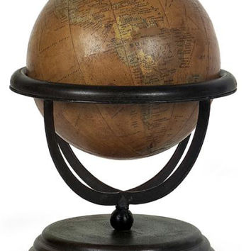 Globe Table Accent - Vintage Style