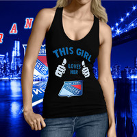 Ny Rangers, New York Rangers Tank top, NY Rangers Tshirt, New York Rangers This Girl Lovers Her NY Rangers Tank