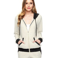 Double Knit Spacedye Track Jacket by Juicy Couture