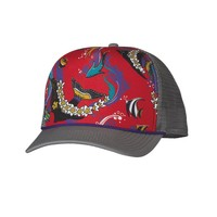 Patagonia Interstate Trucker Hat | Paradise Fish: Feather Grey