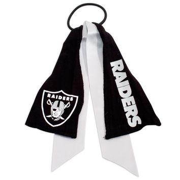 RAIDERS PONYTAIL HOLDER