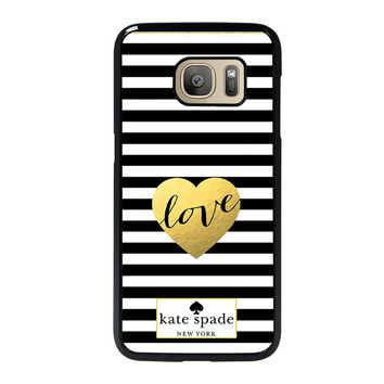 KATE SPANE LOVE NEW YORK Samsung Galaxy S7 Case Cover