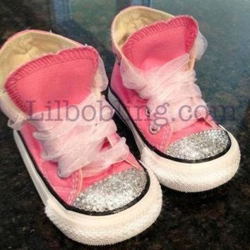 ICIKGQ8 bling converse for babies and toddlers