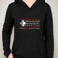 "Grey's Anatomy ""Grey + Sloan Memorial Hospital"" Unisex Adult Hoodie Sweatshirt"