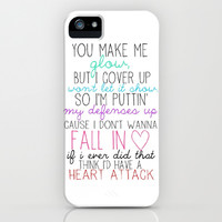 Heart Attack iPhone & iPod Case by Amber Rose