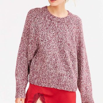 Kimchi Blue Marled Raglan Sweater - Urban Outfitters