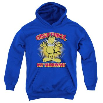 Garfield - Minions Youth Pull Over Hoodie
