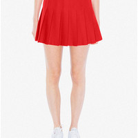 Gabardine Tennis Skirt | American Apparel