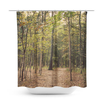In the Woods 1 Shower Curtain