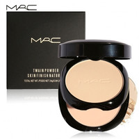 6 Colors 2 Layers Face Pressed Powder Contour Foundation Concealer Makeup Cosmetics With Mirror And Puff