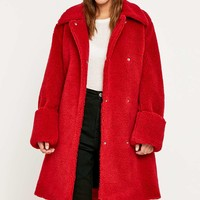 MM6 Teddy Coat - Urban Outfitters