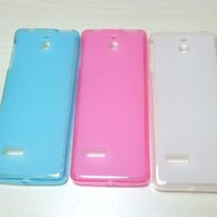 For Nokia Lumia 515 Soft TPU translucent Color Silicone Cover