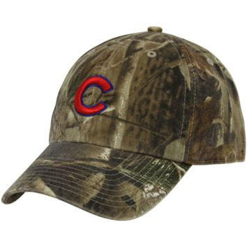 47 Brand Chicago Cubs Real Tree Camo Cleanup Adjustable Hat