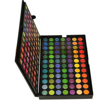 183 Colors Eye Shadow Palette for Make Up Warm Colors 3 Layers Brushes Combo Palette