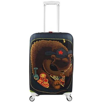 DCCKU62 Luggage Cover Proetection on Suitcase cover Trolley case Travel Luggage Dust cover for 18 20 22 24 26 28 30 32 inch Suitcase