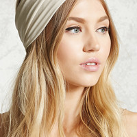 Ruched Metallic Headwrap