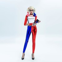 Suicide Squad Harley Quinn Cosplay Costume Halloween Costumes For Adult Women Costume Harley Quinn Cosplay Harley Suit 2017