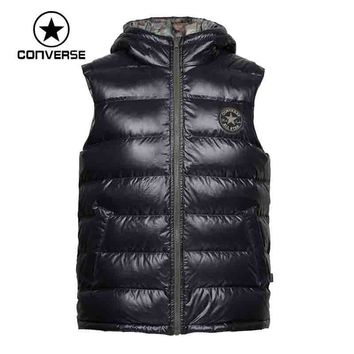 Original converse men's down jacket Vest Hiking Down sportswear free shipping