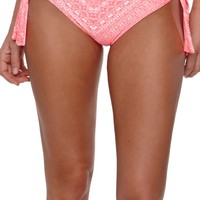 O'Neill Jessa Thick Tie Pant Bottom - Womens Swimwear - Blue -