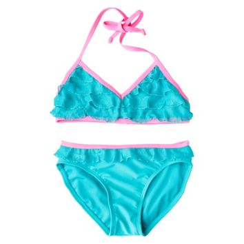 Xhilaration® Girls' 2-Piece Swimsuit