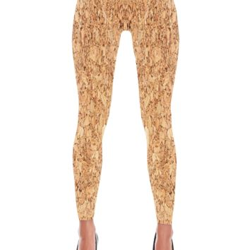 Cork Leggings