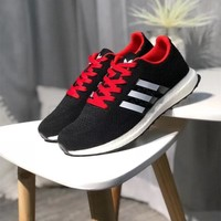 """Adidas"" Unisex Sport Casual Knit Running Shoes Couple Fashion Sneakers"