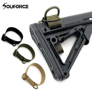 Hunting Tactical Multi-function Gun Rope Military Portable Strapping Belt for Airsoft Bundle Gun Belt
