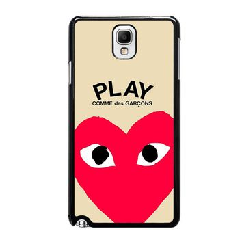 PLAY COMME DES GARCONS Samsung Galaxy Note 3 Case Cover
