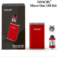 Origianl Smok VAPE Micro One 150 Kit with R150 TC Smok Box Mod 150W and 4ml Minos Sub Tank 4ml Electronic cigarette vaporizer