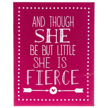 She Is Fierce Canvas Sign | Hobby Lobby | 1130749