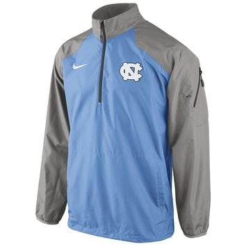 Nike North Carolina Tar Heels Lockdown Half-Zip Storm-FIT Performance Jacket - Men
