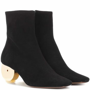 Moon suede ankle boots