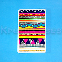 Kindle Fire Case - Aztec Pattern- Amazon Kindle fire HD case