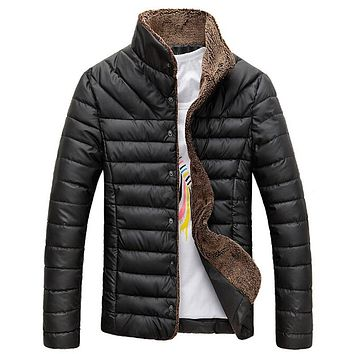 TANGNEST Men's Fashion Thick Parka Winter Jackets
