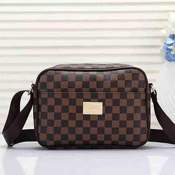 Perfect Louis Vuitton Women Leather Satchel Shoulder Bag Crossbody