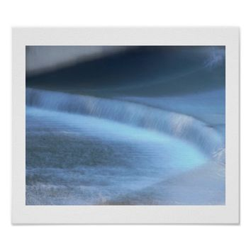 Waterfall at Tyler Park Poster