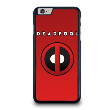deadpool logo iphone 6 6s plus case cover  number 1