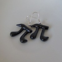 Pi Day Earrings