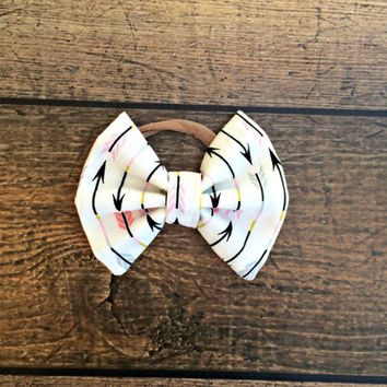 baby bows, baby headband, newborn headband, baby girl headband, arrow baby bow headband, baby girl bow headbands, baby bow set, hair bows,