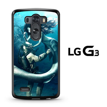 Diver and The Mermaid LG G3 Case