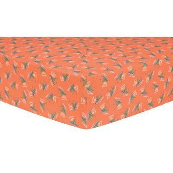 Dr. Seuss Green Eggs and Ham Fitted Crib Sheet