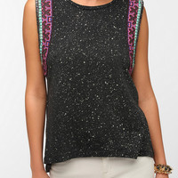 Urban Outfitters - Ecote Silver Moon Muscle Tee