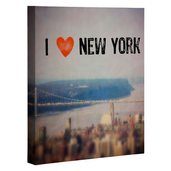 Maybe Sparrow Photography i Heart New York Art Canvas