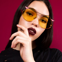 Arrowhead Sunglasses | Yellow