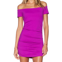 Susana Monaco Jona Dress in Purple