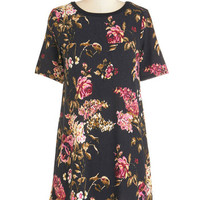 ModCloth Short Length Short Sleeves Sack Ravishing Recommendation Dress