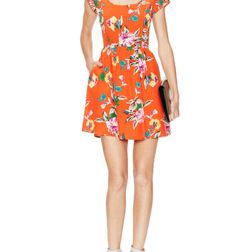 Yumi Kim Women's Tammy Silk Printed Dress -