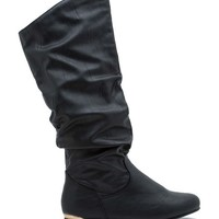 Kalisa 76 Slice Of Metal Slouch Boot